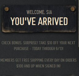 Hollister – Free $10 (Get Body Lotions for $3.33 ea Shipped!)