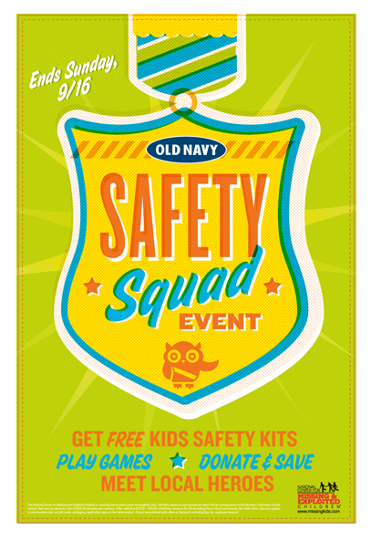 Free Child Safety Kit From Old Navy