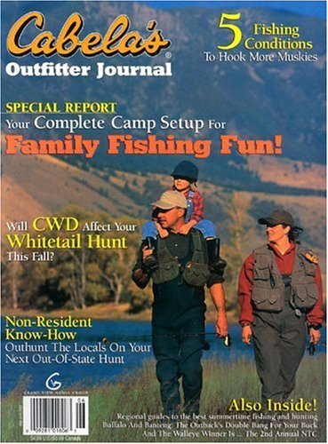 Cabela's Outfitter Journal Magazine – $4.29 for Year Subscription – Today Only – Ends at 9pm pst!