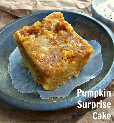 Pumpkin Surprise Cake