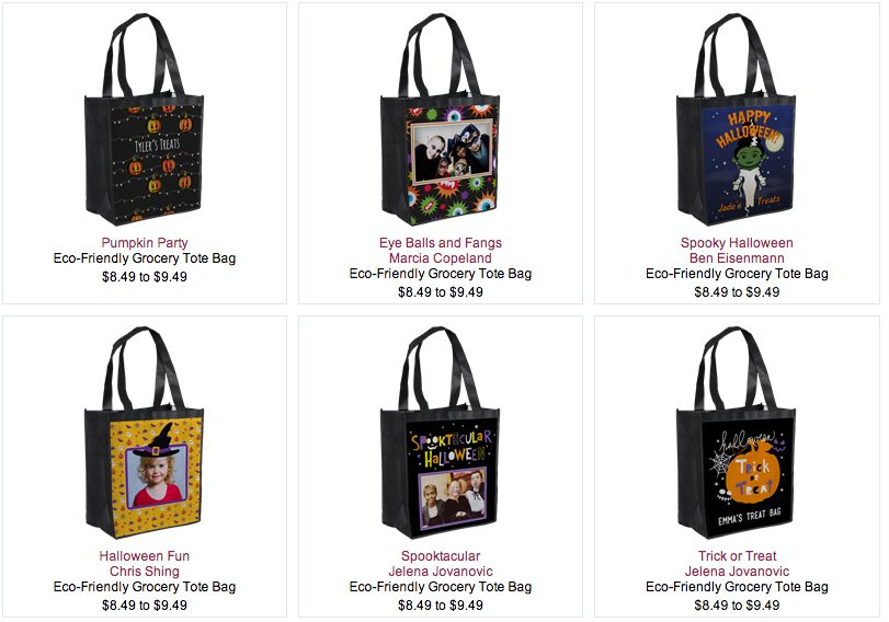 Ink Garden: Personalized Trick or Treat Bags for $5.99 Shipped!