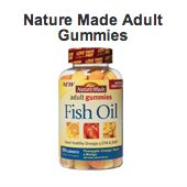 Free Sample of Nature Made Fish Oil Adult Gummies