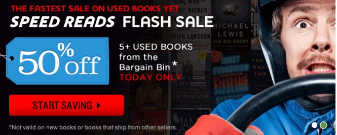 Better World Books: 50% off Used Bargain Books + FREE Shipping – Today Only!