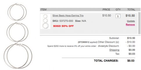Torrid – $10 Off & FREE Shipping (Today Only)