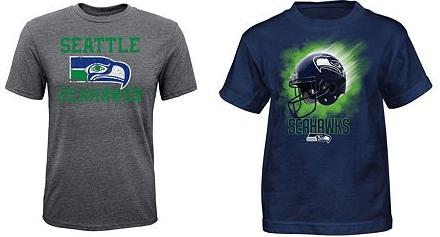 Boys 4-7 Seattle Seahawks Tee