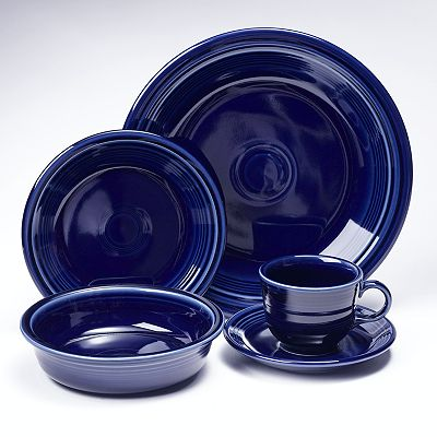 Save  sc 1 st  Thrifty NW Mom & Fiesta Dishes On Sale At Kohls! $11.84 For A 5 Piece Place Setting ...