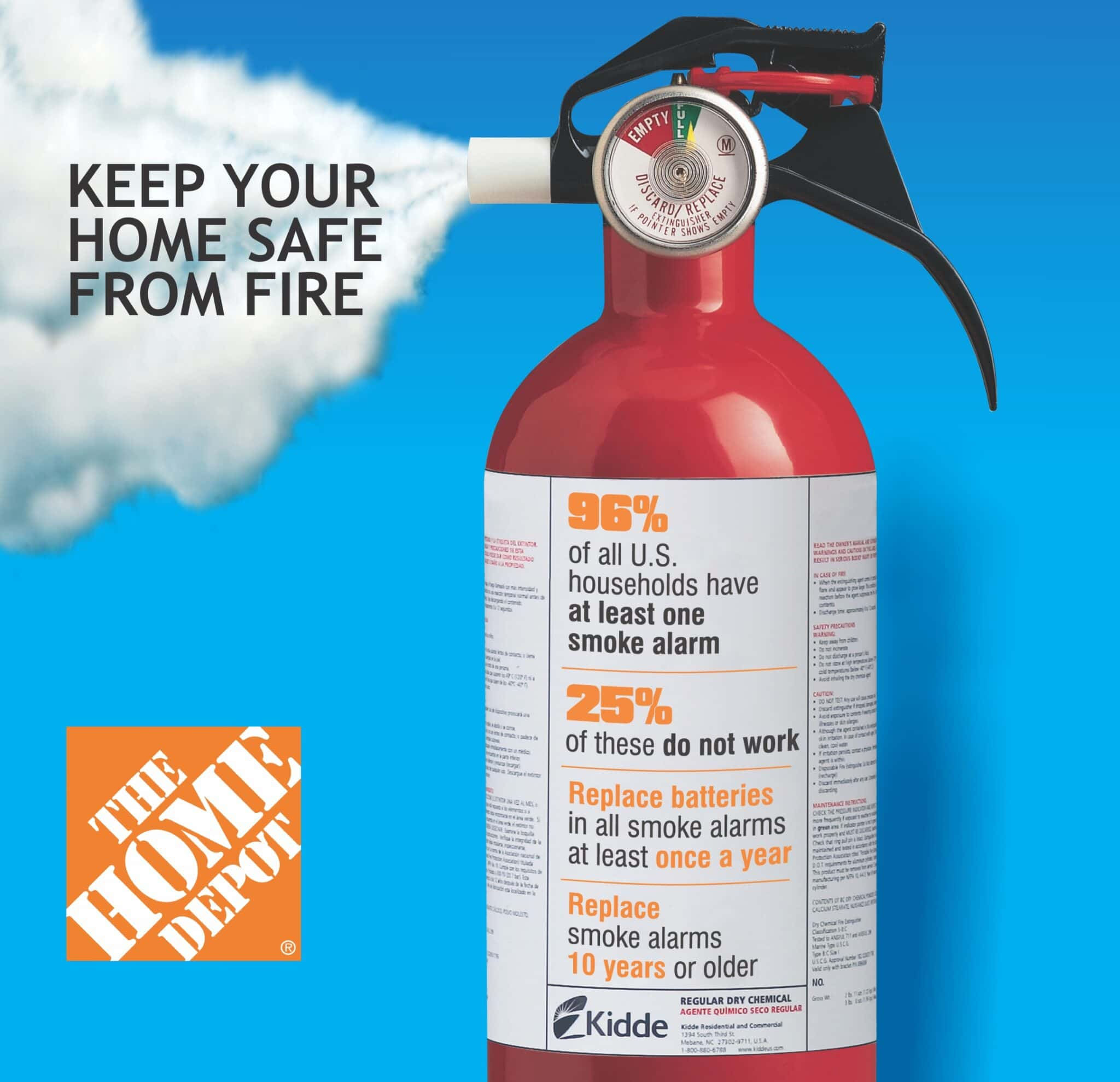 Home Depot Fire Safety Event Saturday December 1st $50 Home
