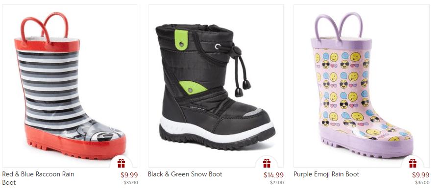 Zulily Blowout Sale – Kids Rainboots Just $9.99, Snowboots $14.99!!