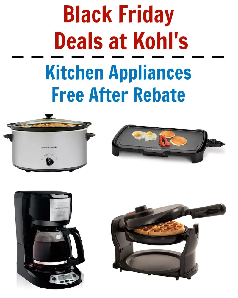 Kohl Kitchen Appliances