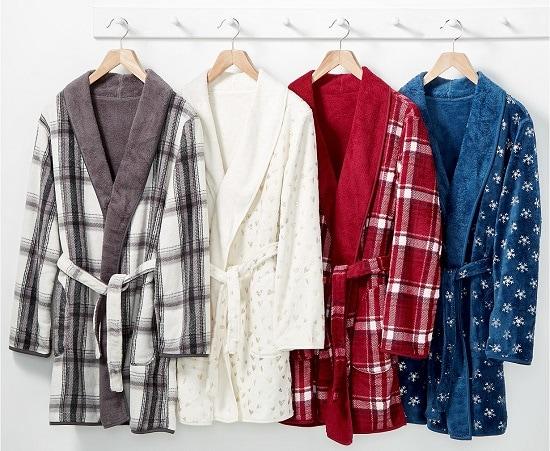 Martha Stewart Reversible Plush Robes $17.99 at Macy's! Regular $60!