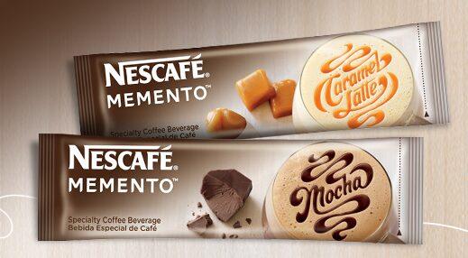 Free Sample of Nescafe Memento + Coupon