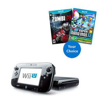 Nintendo WiiU Bundle – In Stock right now!