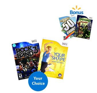 Nintendo Wii & DS Game Bundles – 4 Games for $20 or $5 Each!