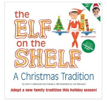 Elf on the Shelf Book & Girl – On Sale for $13.69 + Shipping