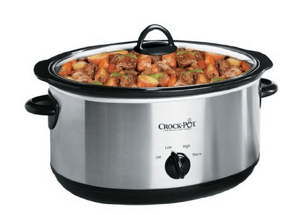 7 Quart Crockpot Slow Cooker
