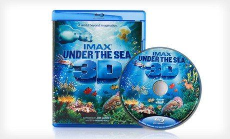 Groupon Toy Deals: IMAX – Under The Sea 3D Blue Ray Movie – $9 & More