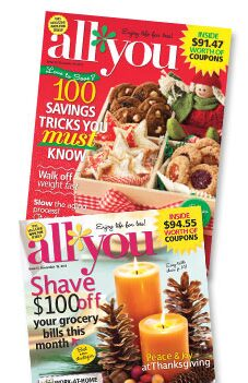 All You Magazine:  2 subscriptions for the price of 1
