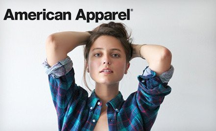 Groupon – Americal Apparel, Pay $25 For $50 Voucher To Shop With