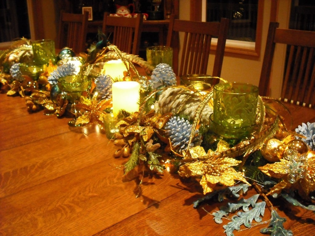 DIY Table Centerpieces (Re-Use Items You Have Around The House / Yard)