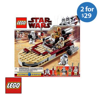 Lego Bundle:  2 Lego Sets for $29 with Free shiping to store! *Update: No longer available!