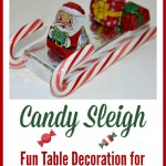 Candy Sleighs – Perfect for Table Settings on Christmas, Present Topper & more!