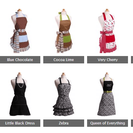 Flirty Aprons Sale – 50% Off & Free Shipping