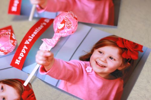 DIY Valentines Card with Lollipops – Cute!