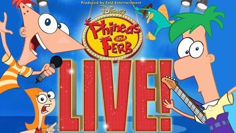 Disney Phineas & Ferb – Tickets Starting at $12 (Portland, 1/25)!