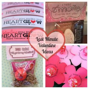 Last Minute Valentine Ideas