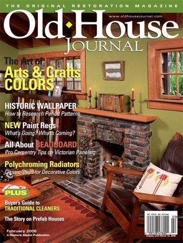 Old House Journal Subscription – $3.99 For One Year!
