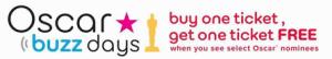 AMC Theaters Coupon - B1G1 Free Oscar Film