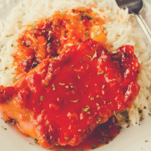 Apricot Pork Chops are a fast & easy recipe for the slow cooker for those busy school nights.