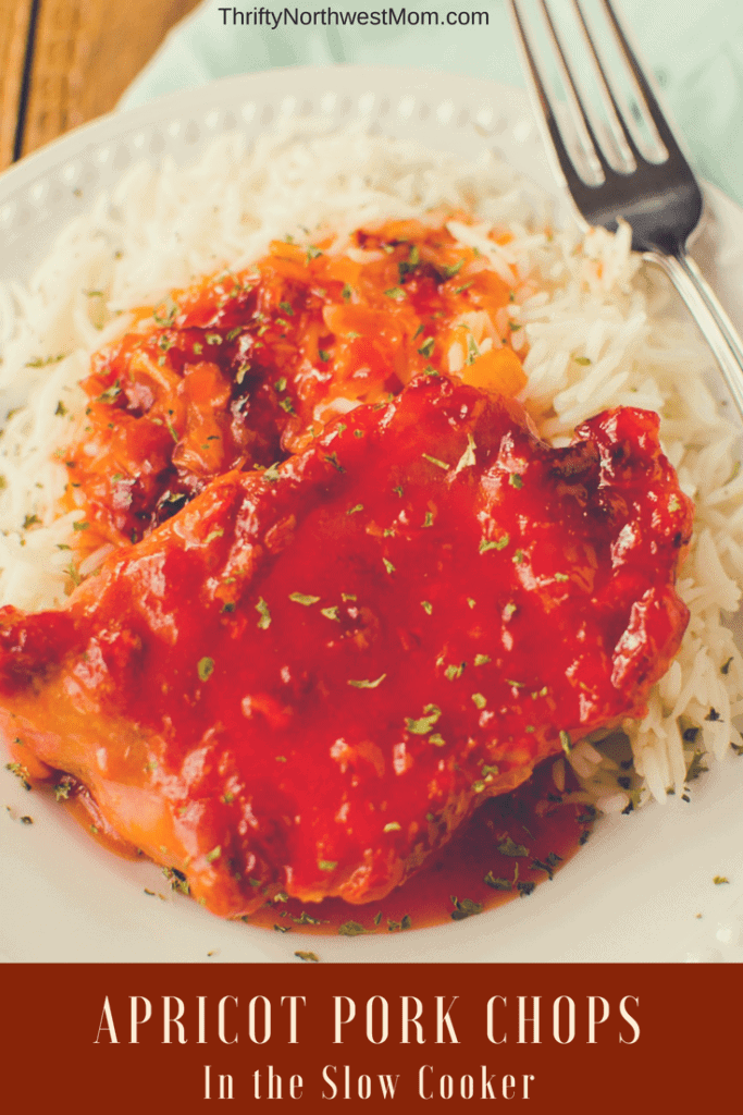 Apricot Crock Pot Pork Chops Recipe – 4 Ingredients!