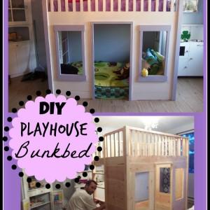 DIY Playhouse Bunkbed