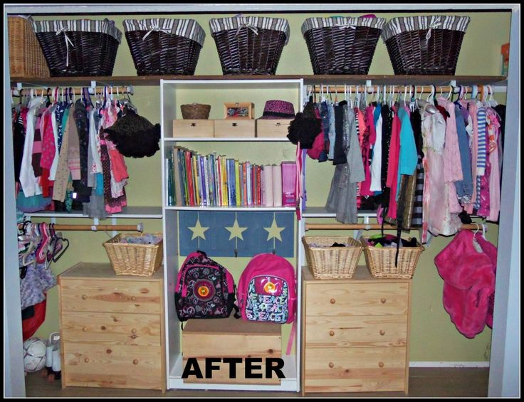 Kids Closet After