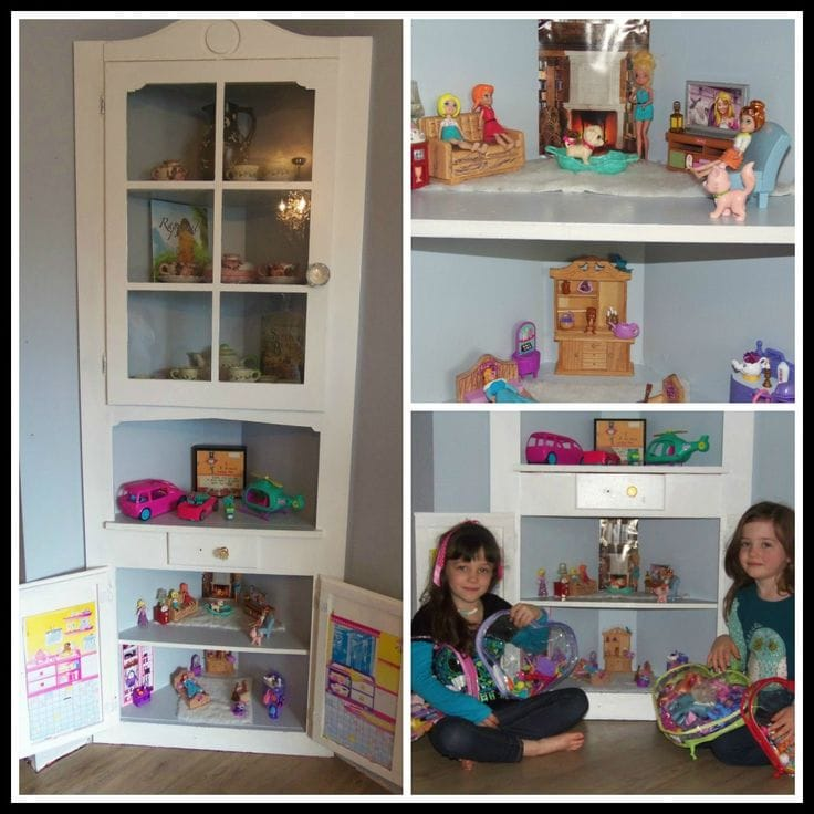 Kids Room Dollhouse out of cabinet