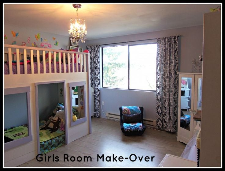 kids room girls room make over - How To Make Your Room Organized