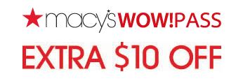 Macy's Coupon – $10 Off $25 Savings Pass!