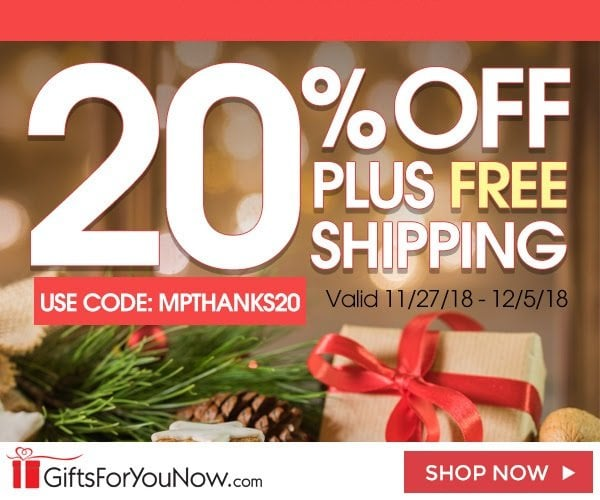 20% Off Personalized Gifts + Free Shipping + Free Personalization!