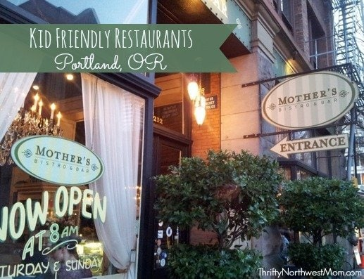 Travel: Kid Friendly Restaurants in Portland, Oregon  Thrifty NW Mom