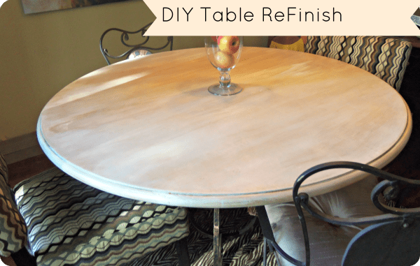 DIY Table Redo For Less Then $20