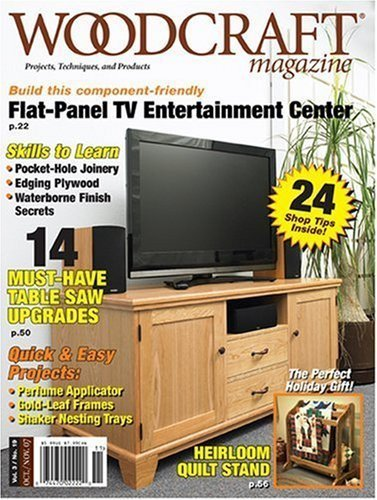 Woodcraft Magazine – One Year Subscription for $6.39
