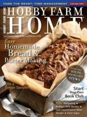 Hobby Farm Home Magazine for only $7.99 per year