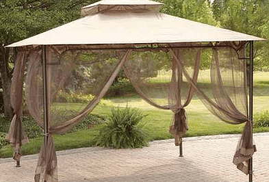 Ace Hardware Gazebo With Canopy Top For 99 99 Tomato