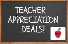 Teacher Appreciation Deals!