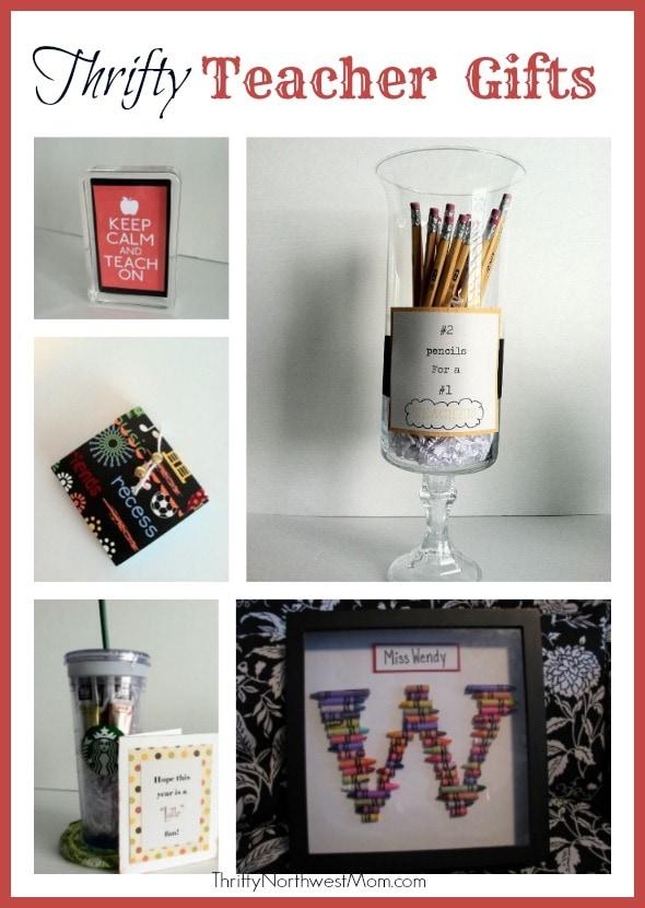 Teacher Appreciation Week – DIY Gift Idea Round Up + Freebies for Teachers