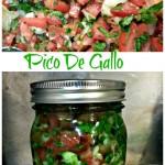 Homemade Pico De Gallo (Salsa) To Impress