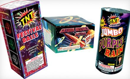 Fireworks Discounts – Seattle & Portland Areas (including 50% off at Multiple TNT Stands)!!
