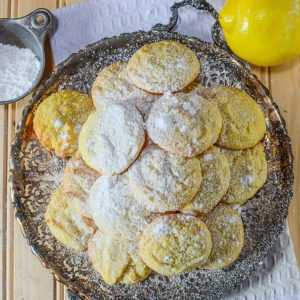 Cake Mix Cookies are a quick, easy & frugal way to bake a variety of cookies such as mint chocolate chip, lemon, snickerdoodle & more.