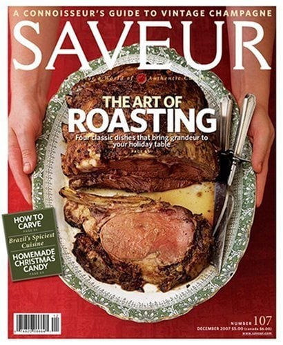 Saveur Magazine – One Year Subscription for $4.99 (Today Only)